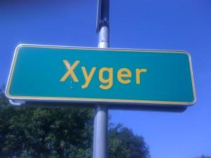 Mein liebster Ortsname in Deutschland: Xyger.
