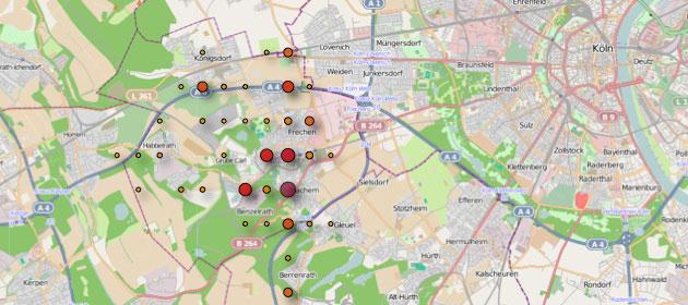 iPhone-Tracker-Karte