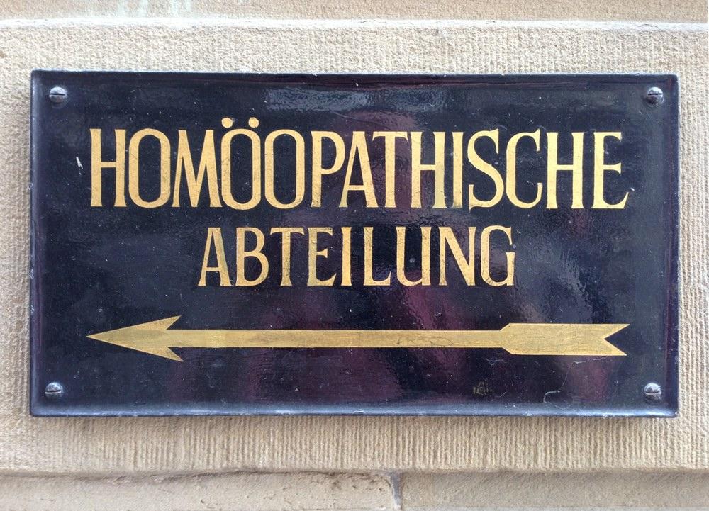 Homöopathische Abteilung