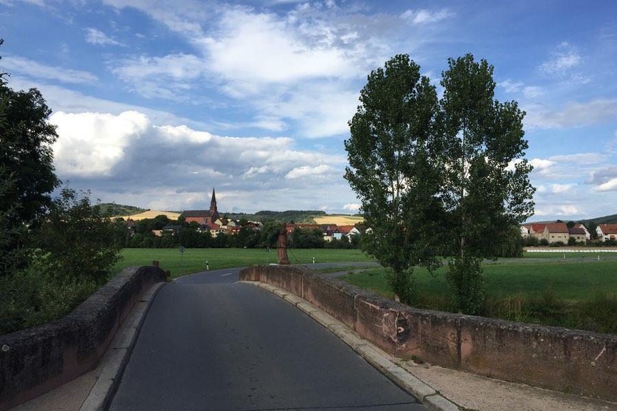 Foto Tauberbrücke