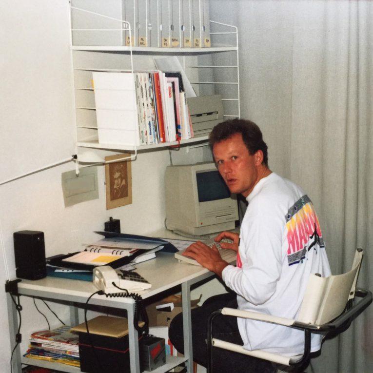 Heimarbeitsplatz 1990/91